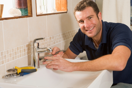 jack is one of our Ceres plumbing pros and he has finished installing a new bathroom faucet